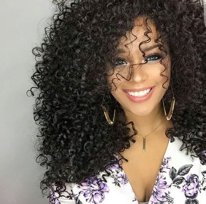 natural curly hair hairstyles 2 - Natural Curly Hair Hairstyles