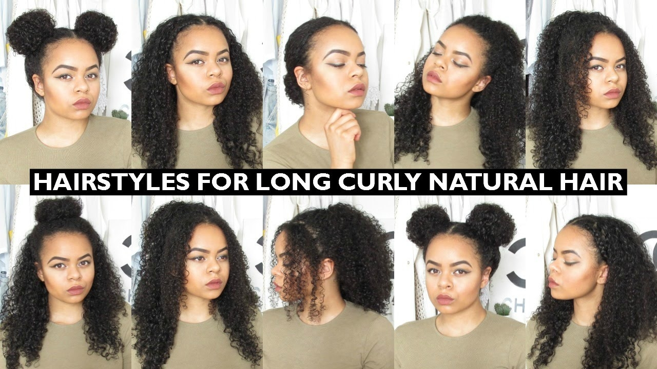 natural curly hair hairstyles 7 - Natural Curly Hair Hairstyles