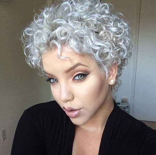 natural curly short hairstyles 12 - Natural Curly Short Hairstyles