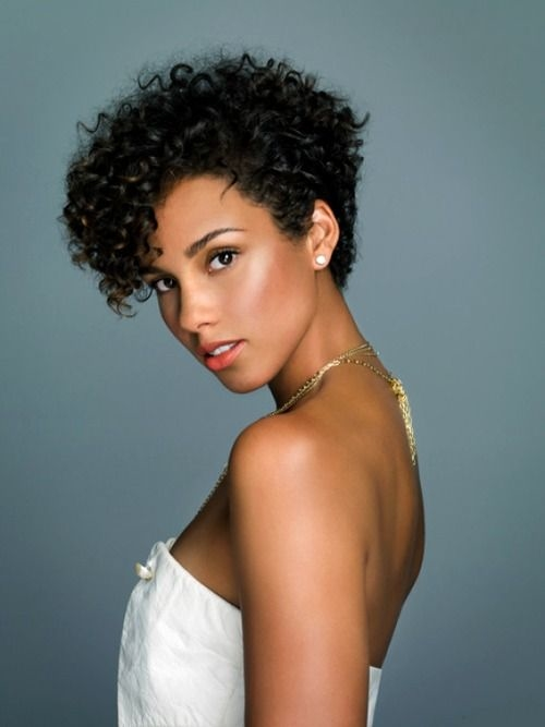 natural curly short hairstyles 2 - Natural Curly Short Hairstyles