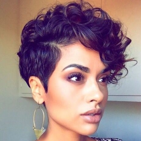 short haircuts with curly hair 11 - Short Haircuts With Curly Hair