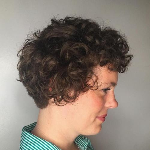 short haircuts with curly hair 15 - Short Haircuts With Curly Hair