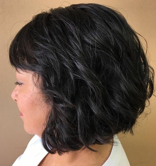 short haircuts with curly hair 16 - Short Haircuts With Curly Hair