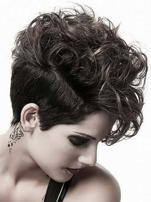 short haircuts with curly hair 3 - Short Haircuts With Curly Hair