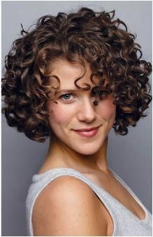 short haircuts with curly hair - Short Haircuts With Curly Hair