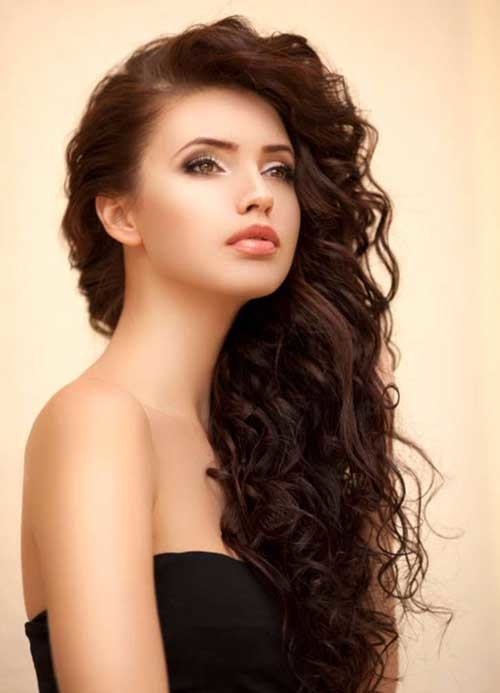 best long curly hairstyles 2 - Best Long Curly Hairstyles 2018