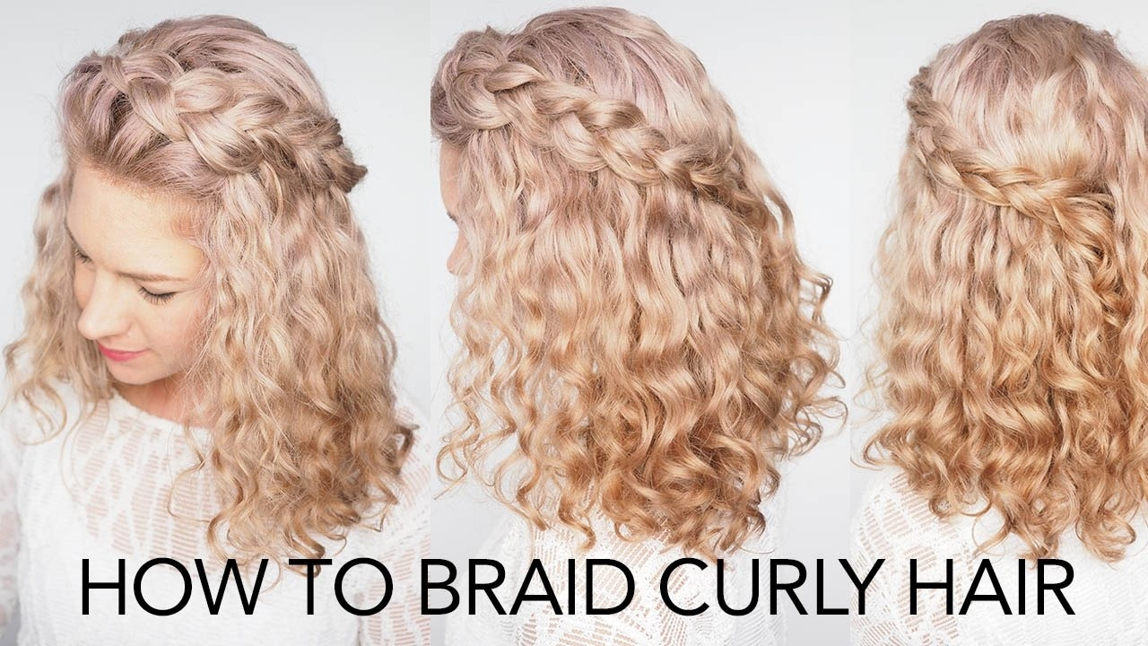 easy hairstyles for curly hair 3 - Easy Hairstyles For Curly Hair