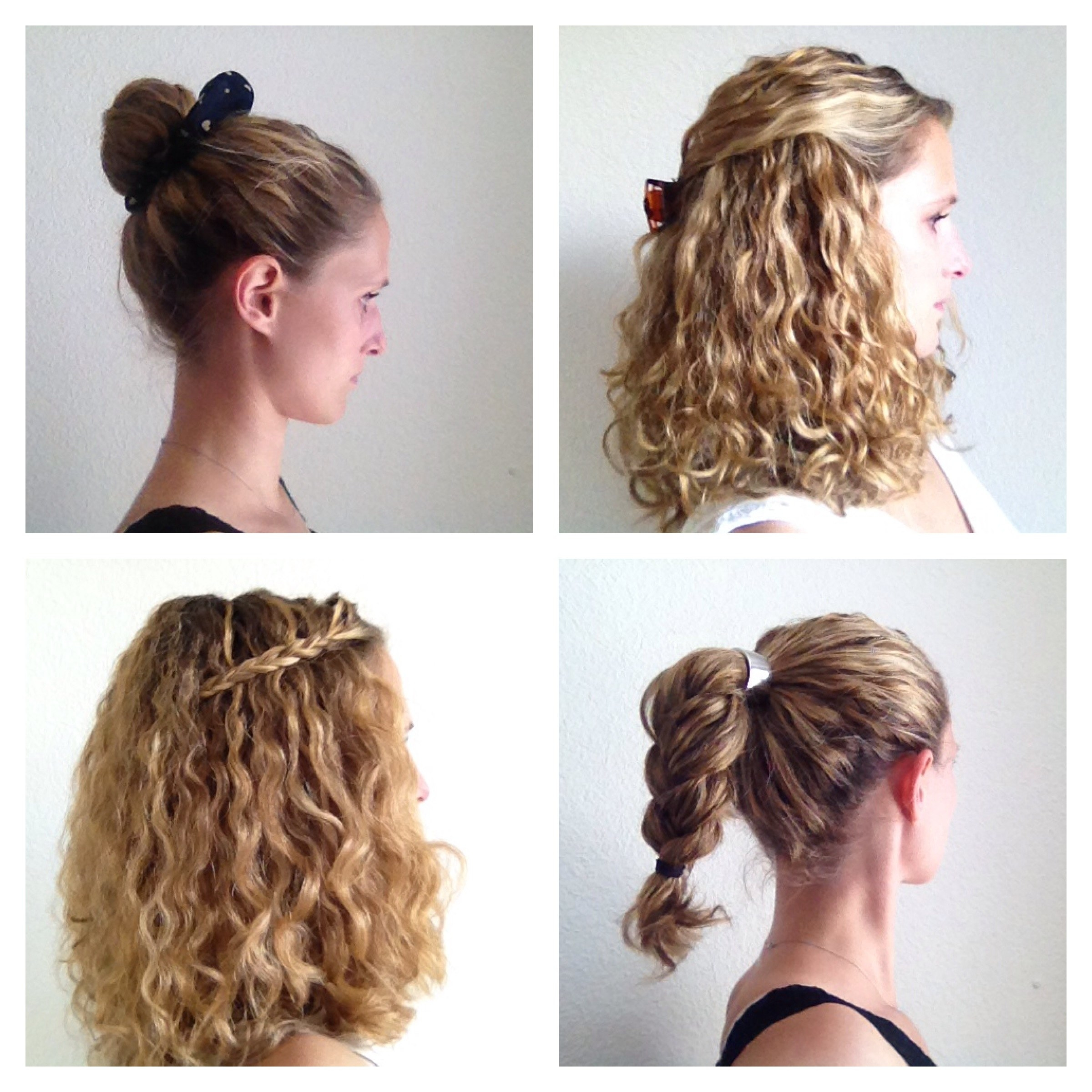 easy hairstyles for curly hair 7 - Easy Hairstyles For Curly Hair