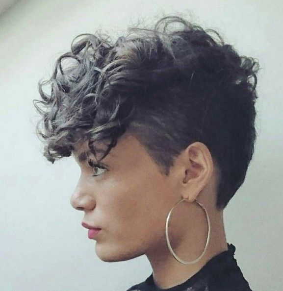 hairstyles for short curly hair 2 - Hairstyles For Short Curly Hair