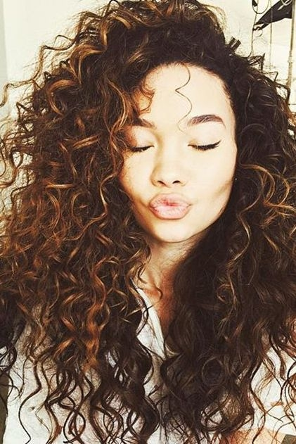 hairstyles for thick curly hair - Hairstyles For Thick Curly Hair
