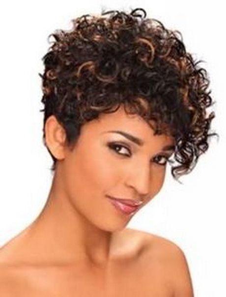 short haircuts for curly hair 1 - Short Haircuts For Curly Hair