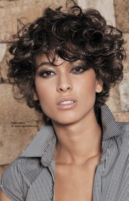 short haircuts for curly hair 9 - Short Haircuts For Curly Hair